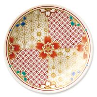 オリジナル 豆皿 桜組子