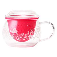 茶こしマグ モンポット スプリングピンク