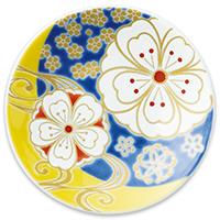 オリジナル 豆皿 夜桜(よざくら)