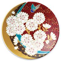 オリジナル 豆皿 桜胡蝶(さくらこちょう)