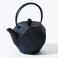 KEN OKUYAMA DESIGN 南部鉄瓶 ティーポット オリガミ ブラック