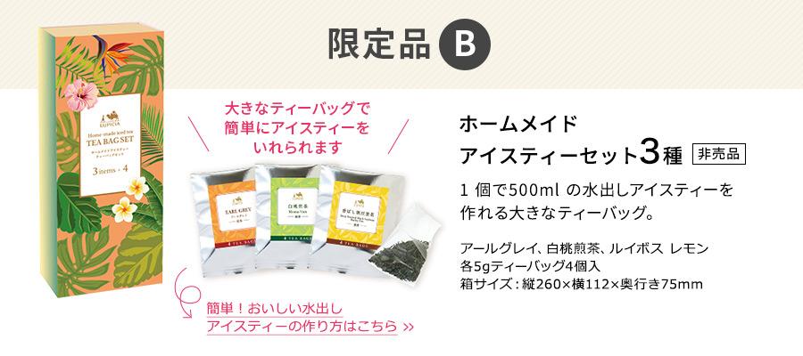 限定品B:ホームメイド アイスティーセット3種