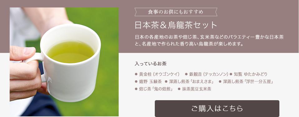 日本茶&烏龍茶セット