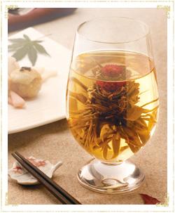 工芸茶の梅酒アレンジ